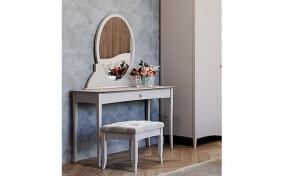 Туалетний столик на ніжках Софія з шухлядою та дзеркалом