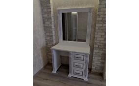 Туалетний столик Ларго однотумбовий з дзеркалом