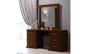 Туалетний столик Ларго двотумбовий з дзеркалом