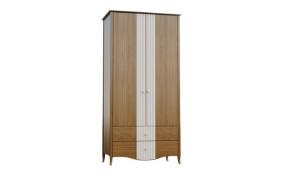 Шкаф на деревянных ножках София 2-х дверный с ящиками