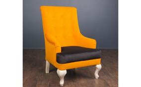 Мягкое кресло в ткани Валенсия