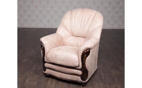 Мягкое кресло в ткани Кармен