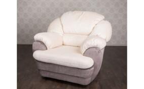 Кресло мягкое в ткани Аляска