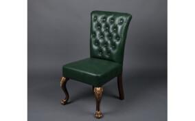 Мягкий стул N4 кожаный
