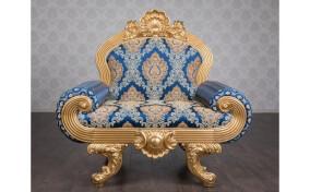 Мягкое кресло в ткани Барселона