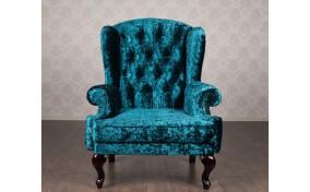 Мягкое кресло в ткани Вальтер