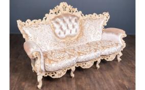 М'який диван в тканині Мадонна в стилі Бароко