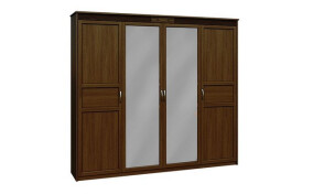 Шкаф Верона 4-х дверный с зеркалом