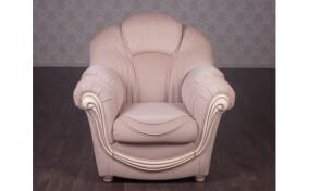 Кресло мягкое в ткане Мальта классическое