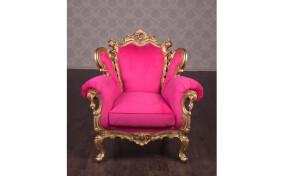 Мягкое кресло в ткани Изабелла