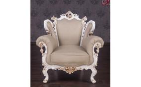 Мягкое кресло кожаное Изабелла
