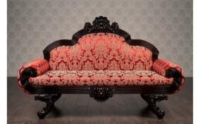 М'який диван двомісний в тканині Барселона