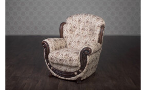 Мягкое кресло в ткане Джове