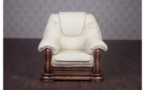 Кресло классическое кожаное Гризли