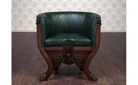Кресло кожаное Тет а Тет