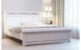Кровать с резной спинкой Лиа