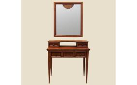 Трюмо Глория четыре ящика с зеркалом