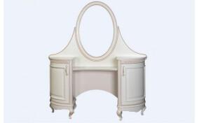 Трюмо Венеция двухтумбовое с зеркалом