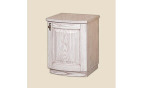 Классическая прикроватная тумба Афродита с дверкой